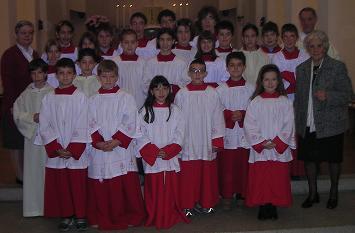 Mandato ai Chierichetti Anno Liturgico 2004/2005