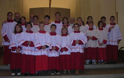 Mandato ai Chierichetti Anno Liturgico 2005/2006