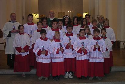 Mandato ai Chierichetti Anno Liturgico 2006/2007