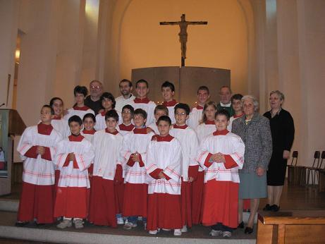 Mandato ai Chierichetti Anno Liturgico 2007/2008