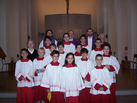 Mandato ai Chierichetti Anno Liturgico 2008/2009