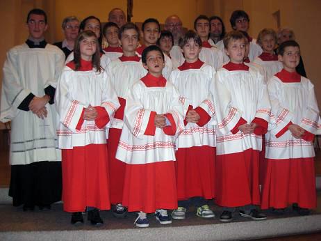 Mandato ai Chierichetti Anno Liturgico 2010/2011