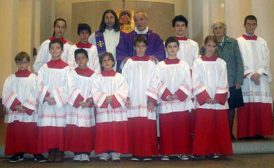Mandato ai Chierichetti Anno Liturgico 2011/2012
