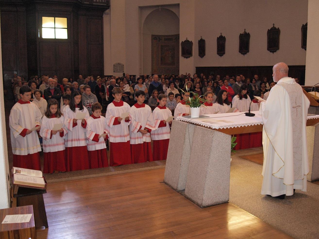 Mandato ai Chierichetti Anno Liturgico 2018/2019